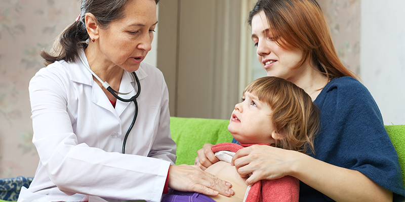 Virus intestinali nei bambini