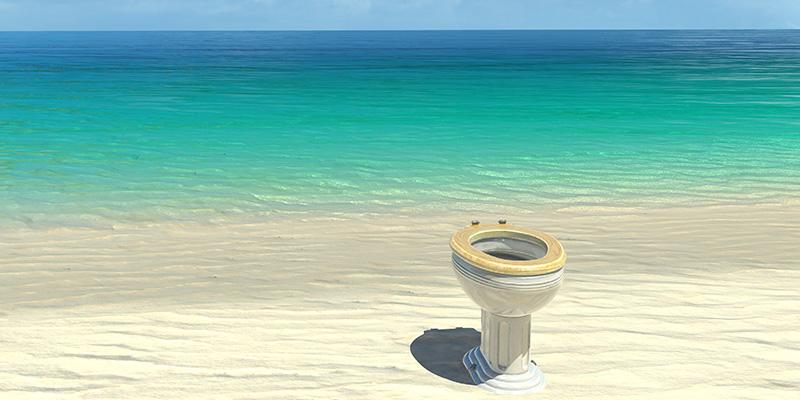 Diarrea in vacanza