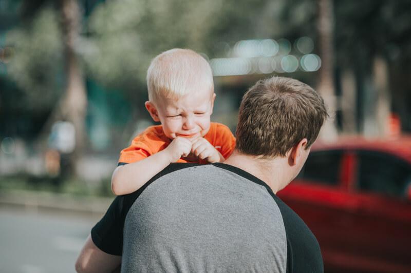 Mal di pancia nei bambini